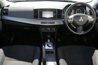 2013 Mitsubishi Lancer CJ MY14 ES Silver 6 Speed Constant Variable Sedan
