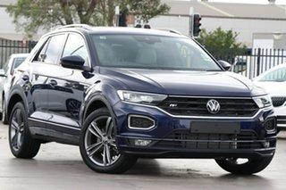 2021 Volkswagen T-ROC A1 MY21 140TSI DSG 4MOTION Sport Indium Grey 7 Speed.
