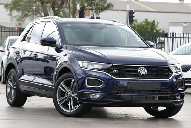 New Volkswagen T-ROC A1 MY21 140TSI DSG 4MOTION Sport Cardiff, 2021 Volkswagen T-ROC A1 MY21 140TSI DSG 4MOTION Sport Indium Grey 7 Speed
