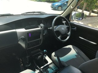 2009 Nissan Patrol GU 6 MY08 DX White 5 Speed Manual Wagon