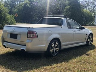 2014 Holden Ute VF MY15 SV6 Silver 6 Speed Automatic Utility.