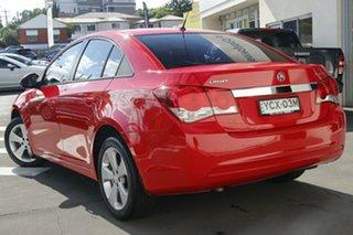 2014 Holden Cruze JH Series II MY14 Equipe Red 5 Speed Manual Sedan.