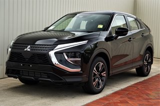 2020 Mitsubishi Eclipse Cross YB MY21 ES 2WD Black 8 Speed Constant Variable Wagon