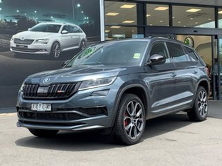 2020 Skoda Kodiaq NS MY21 RS DSG Grey 7 Speed Sports Automatic Dual Clutch Wagon.