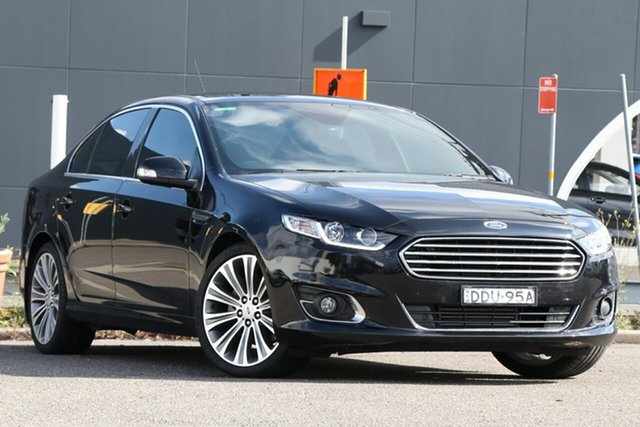 Used Ford Falcon FG X G6E Turbo Parramatta, 2015 Ford Falcon FG X G6E Turbo Black 6 Speed Sports Automatic Sedan