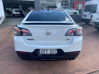 2016 Holden Commodore VF II SS-V Redline White 6 Speed Automatic Sedan