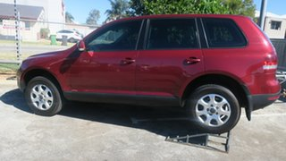 2007 Volkswagen Touareg 7L MY07 V6 FSI 4XMOTION Burgundy 6 Speed Sports Automatic Wagon.