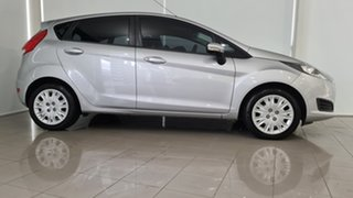 2013 Ford Fiesta WZ Trend PwrShift Silver 6 Speed Sports Automatic Dual Clutch Hatchback