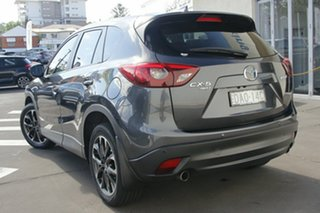 2015 Mazda CX-5 KE1032 Grand Touring SKYACTIV-Drive AWD Grey 6 Speed Sports Automatic Wagon.