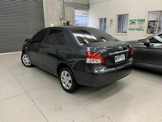 2007 Toyota Yaris NCP93R YRS Grey 4 Speed Automatic Sedan