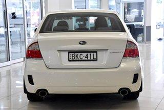 2008 Subaru Liberty B4 MY08 3.0R AWD Premium White 5 Speed Sports Automatic Sedan