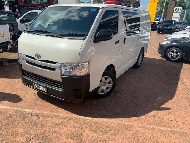 Used Toyota HiAce KDH201R MY16 LWB Brookvale, 2018 Toyota HiAce KDH201R MY16 LWB White 4 Speed Automatic Van