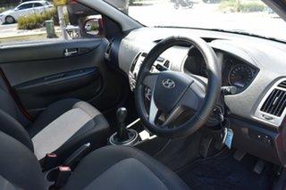 2014 Hyundai i20 PB MY14 Active Red 6 Speed Manual Hatchback