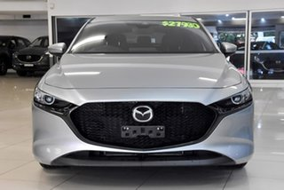 2019 Mazda 3 BP2H7A G20 SKYACTIV-Drive Pure Silver 6 Speed Sports Automatic Hatchback
