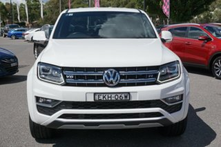 2019 Volkswagen Amarok 2H MY19 TDI580 4MOTION Perm Ultimate White 8 Speed Automatic Utility.
