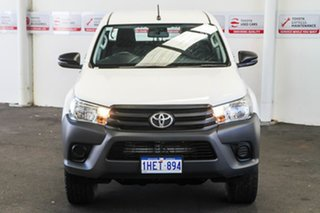 2017 Toyota Hilux GUN125R MY17 Workmate (4x4) Glacier White 6 Speed Automatic Dual Cab Utility