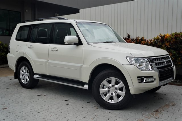New Mitsubishi Pajero NX MY21 GLX Cairns, 2020 Mitsubishi Pajero NX MY21 GLX Warm White 5 Speed Sports Automatic Wagon