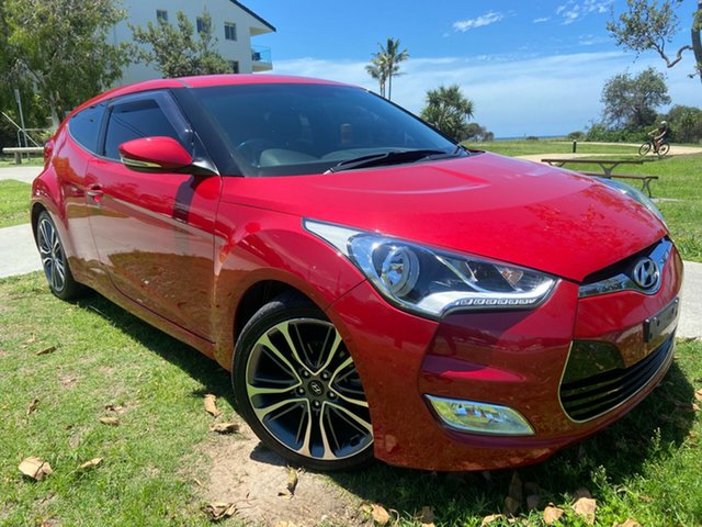 Used Hyundai Veloster FS5 Series II Coupe D-CT Tugun, 2015 Hyundai Veloster FS5 Series II Coupe D-CT Red 6 Speed Sports Automatic Dual Clutch Hatchback
