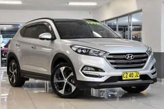 2016 Hyundai Tucson TLE Highlander D-CT AWD Silver 7 Speed Sports Automatic Dual Clutch Wagon.