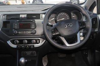 2013 Kia Rio UB MY13 S Silver 4 Speed Sports Automatic Hatchback