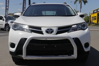 2015 Toyota RAV4 ALA49R GX AWD Glacier White 6 Speed Sports Automatic Wagon
