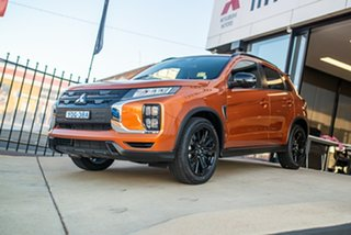 2020 Mitsubishi ASX XD MY20 GSR 2WD Sunshine Orange 6 Speed Constant Variable Wagon.