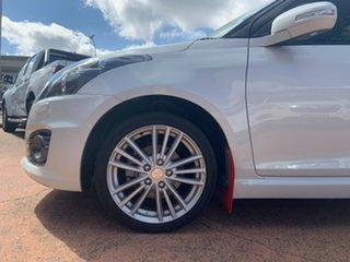 2017 Suzuki Swift FZ Sport Navigator White 7 Speed CVT Auto Sequential Hatchback.