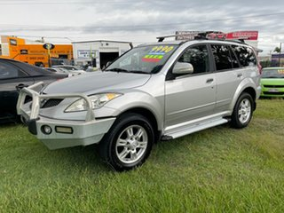 2013 Great Wall X200 K2 MY13 Silver 5 Speed Automatic Wagon.