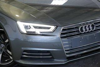 2016 Audi A4 B9 8W MY17 Sport S Tronic Grey 7 Speed Sports Automatic Dual Clutch Sedan.