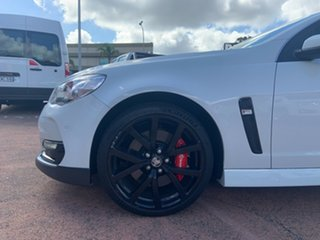 2016 Holden Commodore VF II SS-V Redline White 6 Speed Automatic Sedan.