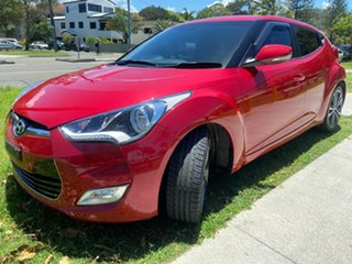 2015 Hyundai Veloster FS5 Series II Coupe D-CT Red 6 Speed Sports Automatic Dual Clutch Hatchback.