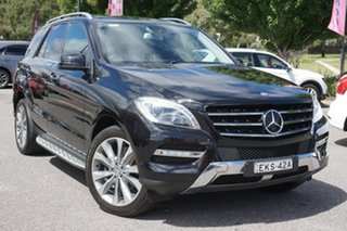 2012 Mercedes-Benz M-Class W166 ML350 BlueTEC 7G-Tronic + Black 7 Speed Sports Automatic Wagon.