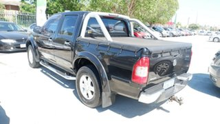 2006 Holden Rodeo RA MY06 LT Crew Cab Black 4 Speed Automatic Utility