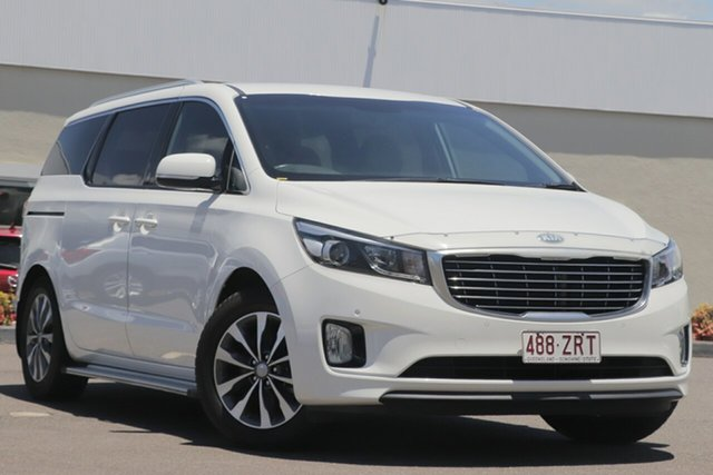 Used Kia Carnival YP MY16 SLi Windsor, 2016 Kia Carnival YP MY16 SLi White 6 Speed Sports Automatic Wagon