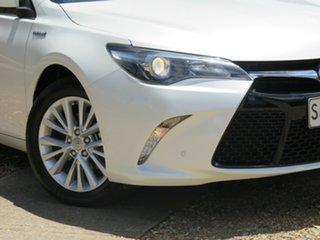 2015 Toyota Camry AVV50R Atara SL White 1 Speed Constant Variable Sedan Hybrid