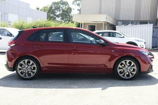 2020 Hyundai i30 PD.V4 MY21 N Line Premium Fiery Red 7 Speed Auto Dual Clutch Hatchback