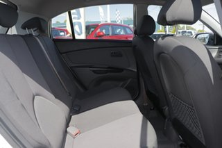 2010 Kia Rio JB MY10 Sports Special Edition Clear White 5 Speed Manual Hatchback