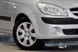 2007 Hyundai Getz TB MY06 Silver 4 Speed Automatic Hatchback