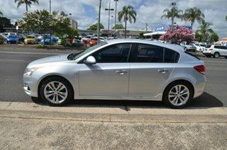 2013 Holden Cruze JH MY13 SRi V Silver 6 Speed Manual Hatchback.