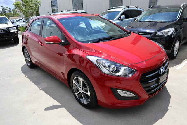 Used Hyundai i30 GD4 Series II MY17 Active Castle Hill, 2016 Hyundai i30 GD4 Series II MY17 Active Red/Black 6 Speed Sports Automatic Hatchback