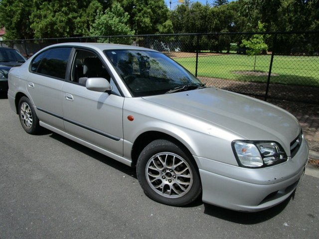 Used Subaru Liberty MY02 Heritage (AWD) Glenelg, 2001 Subaru Liberty MY02 Heritage (AWD) Gold 4 Speed Automatic Sedan