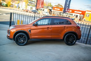 2020 Mitsubishi ASX XD MY20 GSR 2WD Sunshine Orange 6 Speed Constant Variable Wagon