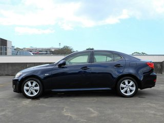 2008 Lexus IS GSE20R IS250 Prestige Blue 6 Speed Sports Automatic Sedan