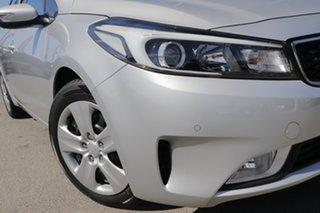 2016 Kia Cerato YD MY17 S Silky Silver 6 Speed Sports Automatic Sedan.