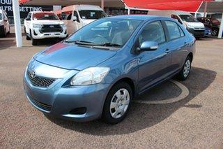 2010 Toyota Yaris NCP93R MY10 YRS Blue 4 Speed Automatic Sedan.