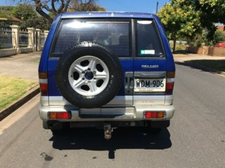 1998 Holden Jackaroo L8 SE Metallic Blue/Silver 4 Speed Automatic Wagon