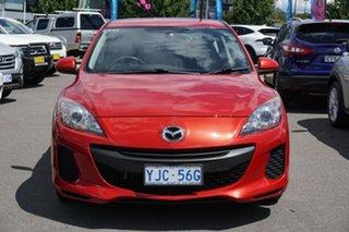 2012 Mazda 3 BL10F2 Neo Red 6 Speed Manual Hatchback.