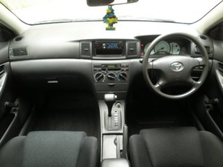 2005 Toyota Corolla ZZE122R 5Y Ascent Winter White 4 Speed Automatic Hatchback