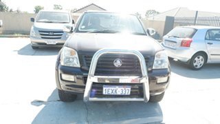 2006 Holden Rodeo RA MY06 LT Crew Cab Black 4 Speed Automatic Utility.