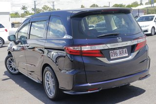 2014 Honda Odyssey RC MY14 VTi-L Black 7 Speed Constant Variable Wagon.